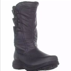 Sporto Woman Dana Mid Calf Boots, Dark Pewter 9.5